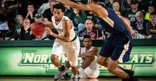 mbball vs  Augustana University during the Central Regional Championships at Bearcat Arena March. 12, 2017. (Photo by Todd Weddle | Northwest Missouri State University)