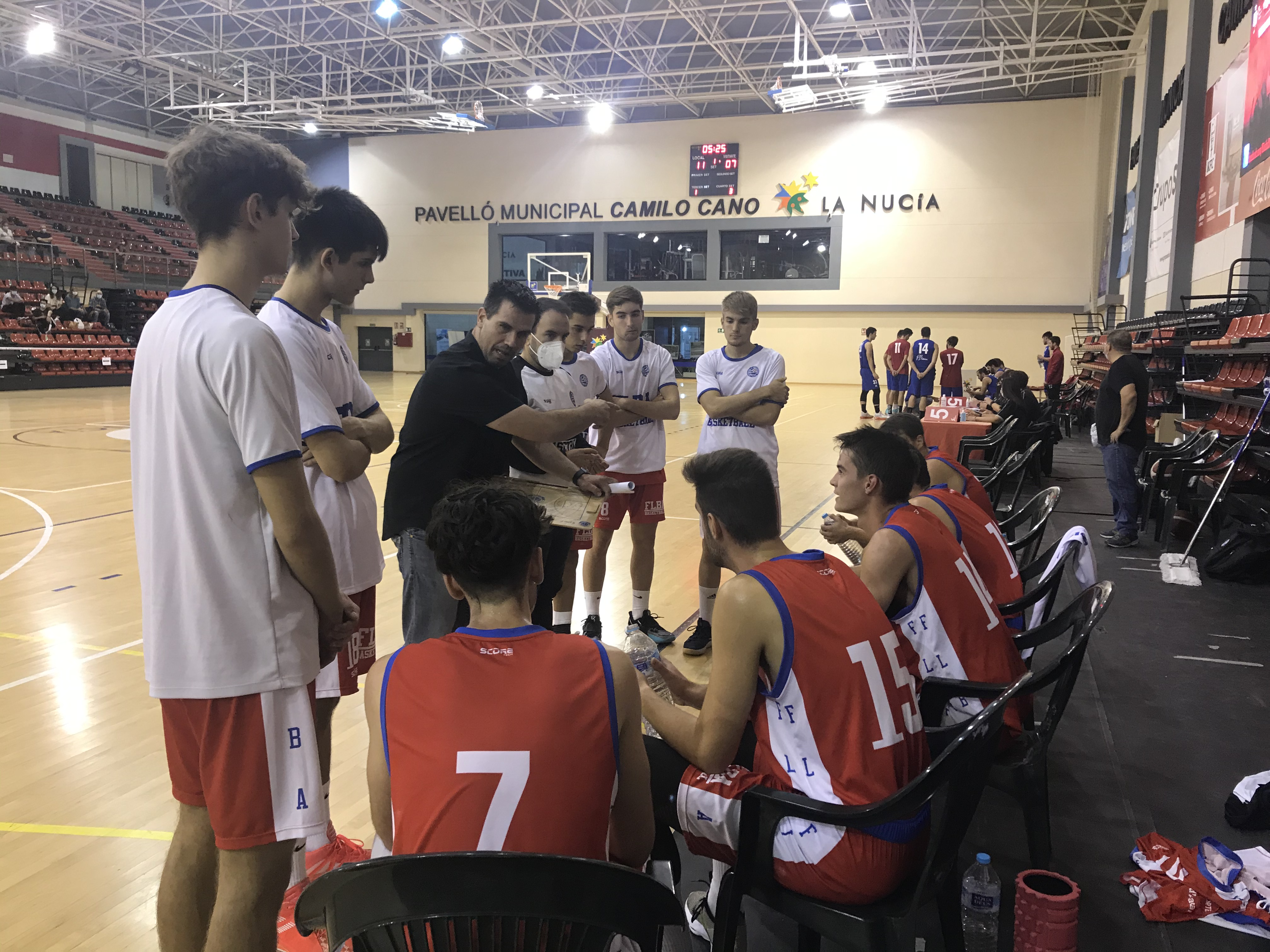 La Nucia UA Basket vs Tavernes oct 2 2020